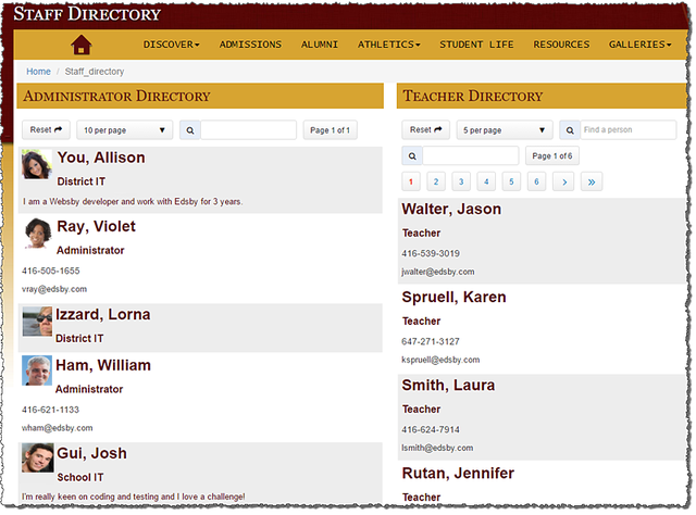 image showing the Websby Directory Listing
